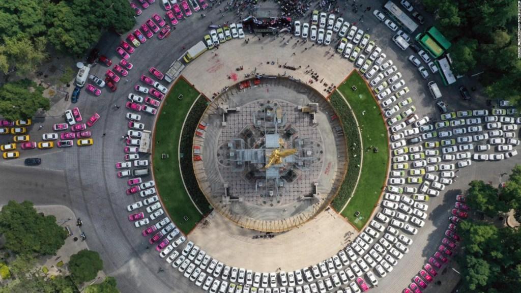 ¿Qué piden los taxistas en la Ciudad de México?