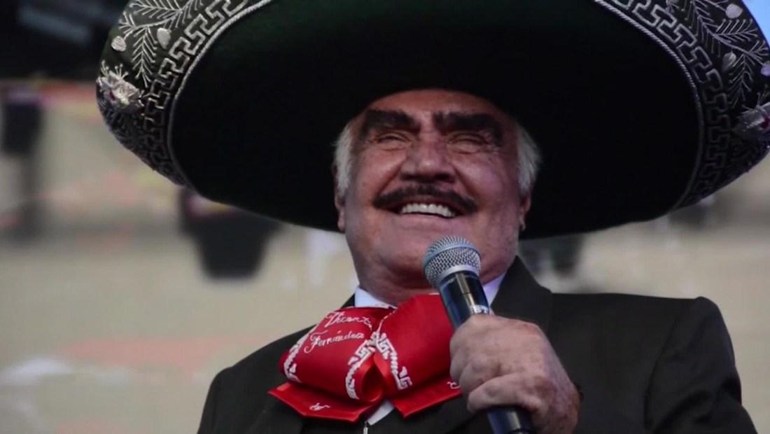 Multitudinario homenaje a Vicente Fernández en Guadalajara