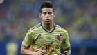 ¿Por qué no jugará James Rodríguez con su selección?