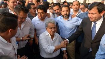 Ecuatorianos marchan en Madrid
