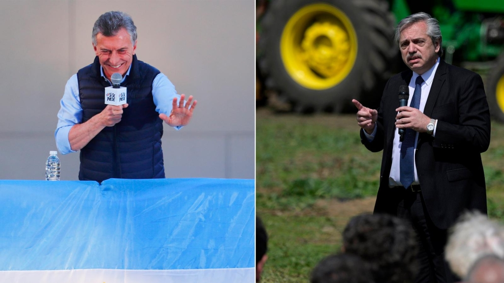 Macri y Fernández en la recta final de las elecciones