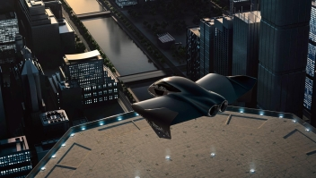 Alianza Boeing-Porsche para un auto eléctrico volador