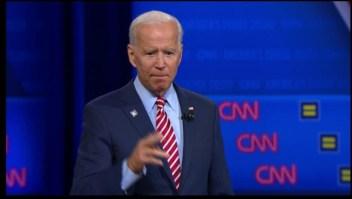 Joe Biden habla sobre los derechos LGBTQ