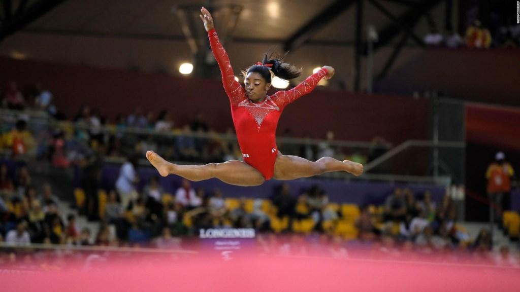 Simone Biles, la gimnasta más condecorada de la historia