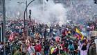 Noveno día de manifestaciones en Ecuador