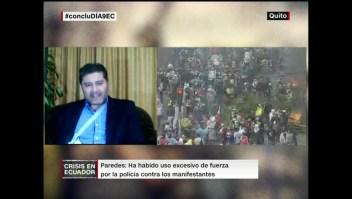 El estado de salud del periodista Freddy Paredes