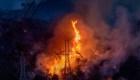 Los feroces incendios forestales en Los Ángeles