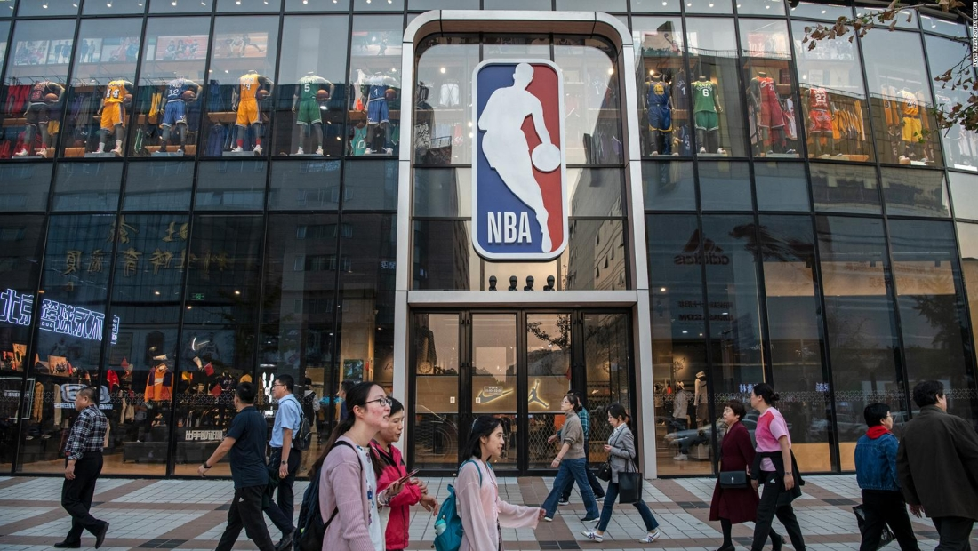 China restaura lazos con la NBA