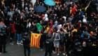 Protestas en Cataluña tras sentencia contra líderes independentistas