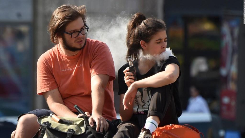 El vapeo se incrementa más en jóvenes que en adultos