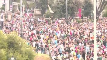 Continúan las fuertes protestas en Barcelona