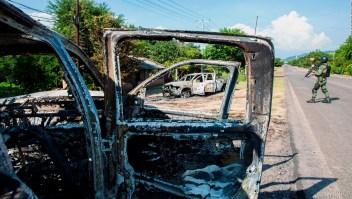 Sin rastro de los atacantes de los policías en Michoacán