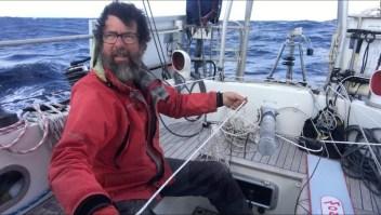 Récord: recorrió 5 océanos en 200 días con su velero
