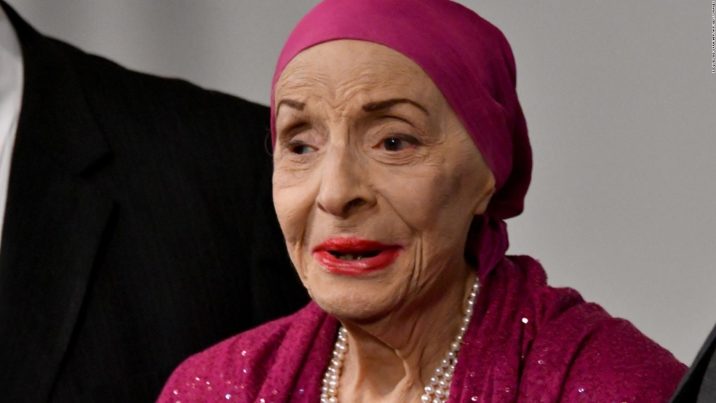 The iconic dancer Alicia Alonso dies