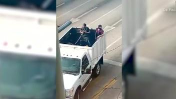 Imágenes impactantes del pánico por balaceras en Culiacán