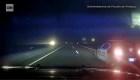 Policía persigue a un hombre que robó 4 vehículos