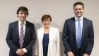 Equipo económico argentino se reúne con titular del FMI