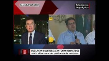 Reacciona Salvador Nasralla al veredicto contra Tony Hernández