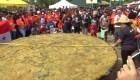 El patacón más grande del mundo es panameño