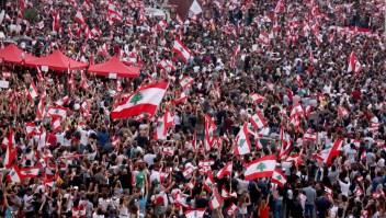 """Manifestantes libaneses: """"Es demasiado tarde"""""""