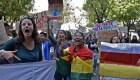 Con protestas piden segunda vuelta en Bolivia