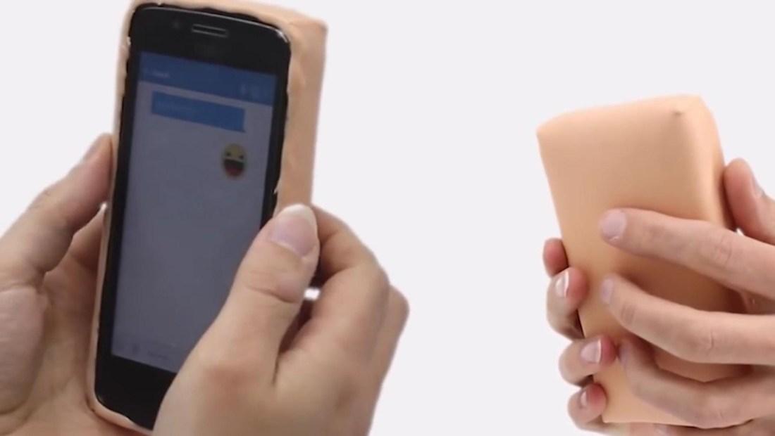 Tu próxima funda para el teléfono puede ser de piel humana