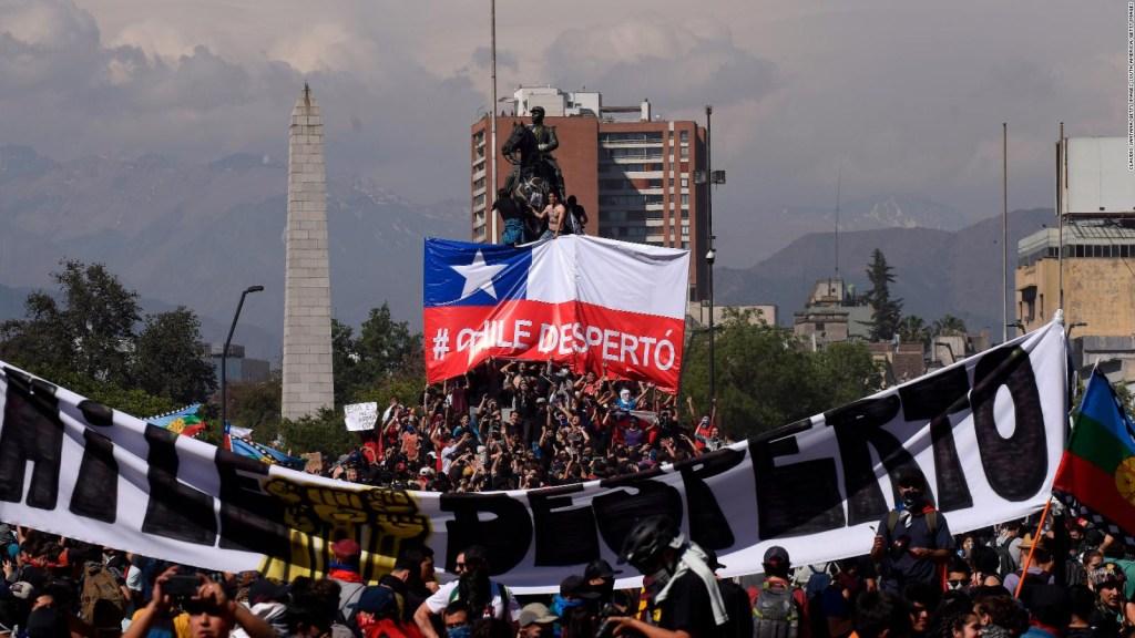 Así fue el quinto día de protestas e incidentes en Chile