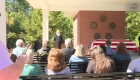 Comunidad atiende a funeral de veterano sin familia