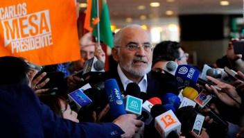 Mesa rechaza auditoría de la OEA en elecciones