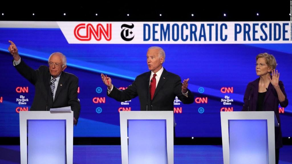oe Biden encabeza sondeo de CNN y SRSS