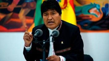 Evo Morales habló tras la polémica en las elecciones