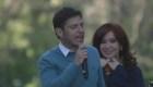 CFK acompaña a Kicillof en cierre de campaña en La Plata
