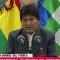 Evo Morales: Ganamos la primera vuelta
