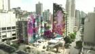 Estos grafitis le cambian la cara a Sao Paulo