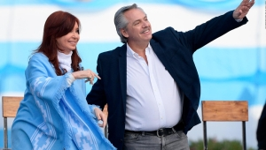 """Alberto Fernández: """"Gracias Cristina por la confianza"""""""
