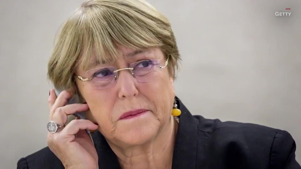 Bachelet pide a manifestantes protestar pacíficamente