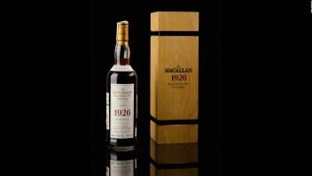 Está es la botella de whisky más cara del mundo: