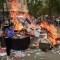 Protestas en Chile: masiva movilización en Santiago