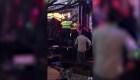 Doce personas heridas por el desplome de una plataforma