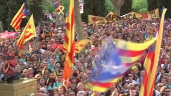En Barcelona exigen se libere a líderes independentistas