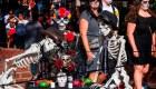 Ciudad de México se llenó de colores para celebrar a los muertos