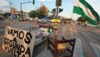 Marchas y contramarchas inundan a Bolivia
