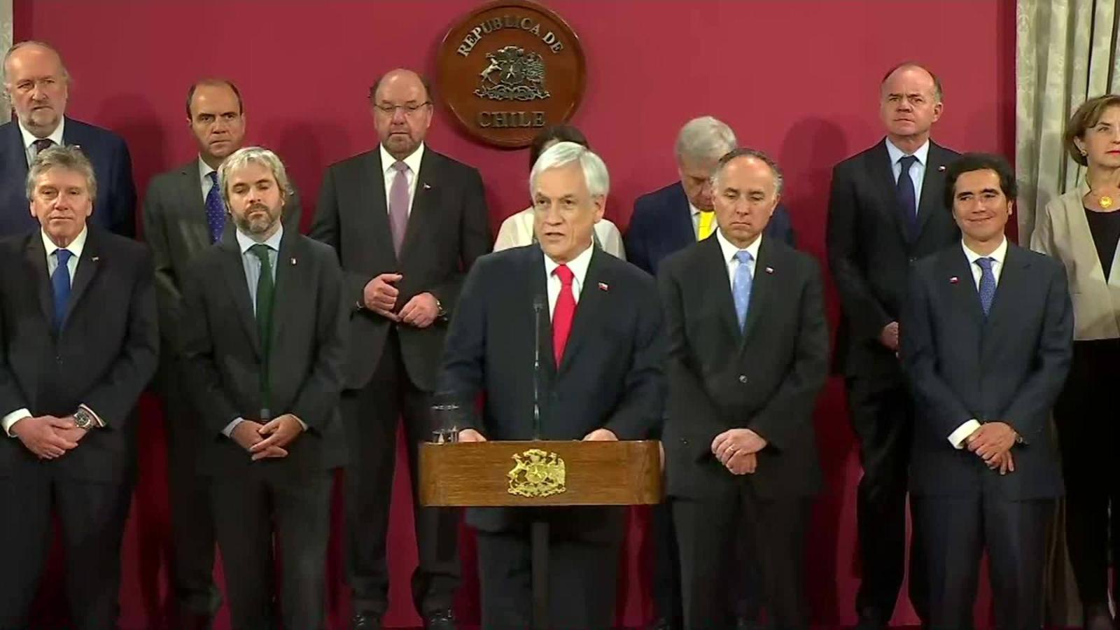 Los cambios en el gabinete y en la agenda social de Chile