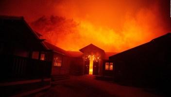 Nuevo incendio forestal amenaza Los Ángeles