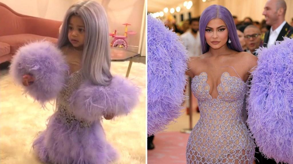 La hija de Kylie Jenner, idéntica a su madre