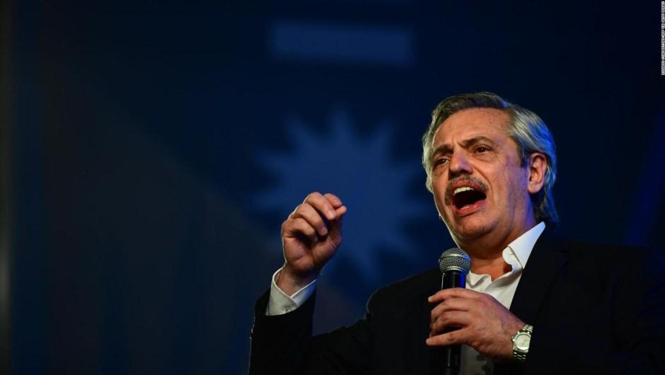 Presidentes saludan a Alberto Fernández tras elecciones