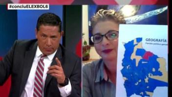 Enfrentamiento entre diputada del MAS y Fernando del Rincón