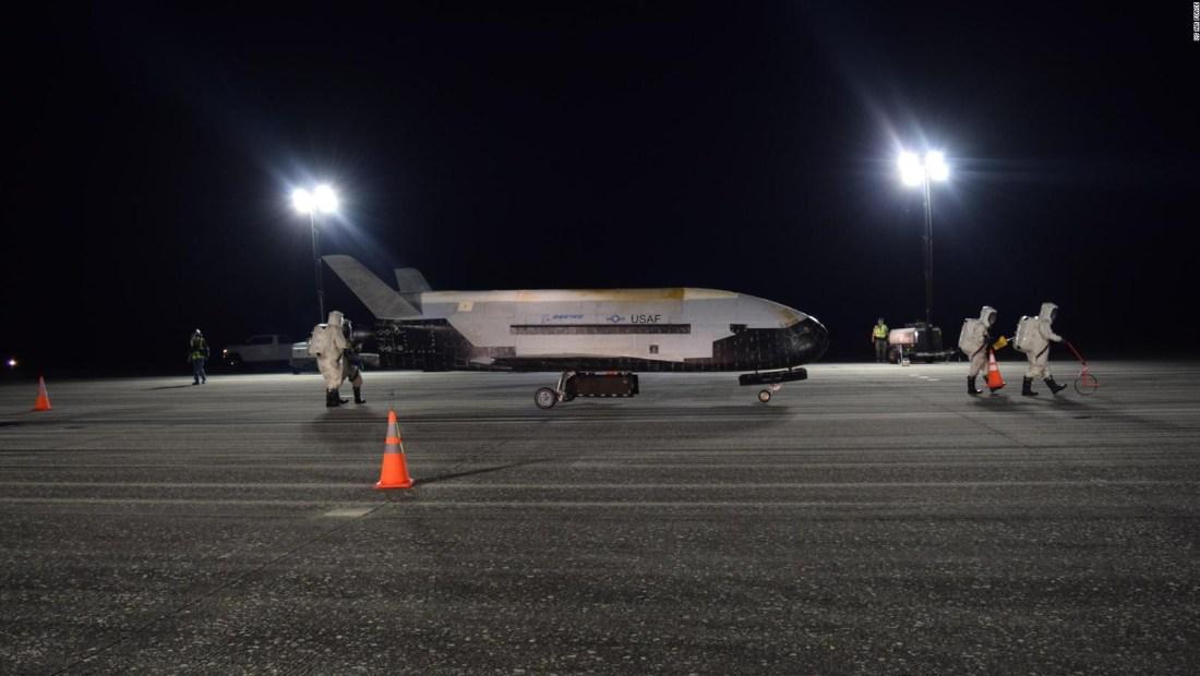 Un avión secreto que sobrevoló por más de 700 días