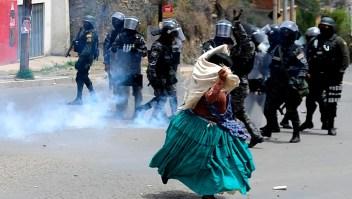 Martes de protestas en Bolivia