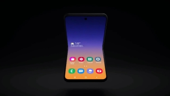 Samsung trabaja en nuevo teléfono plegable